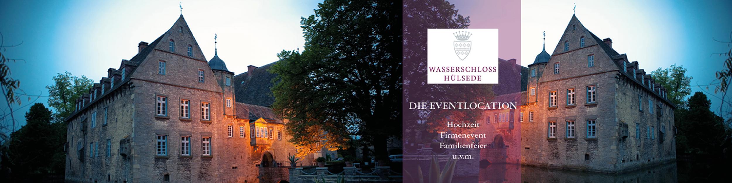Wasserschloss Hülsede – Hochzeiten, Events und mehr!